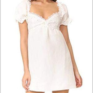 For Love and Lemons Crema Babydoll Dress